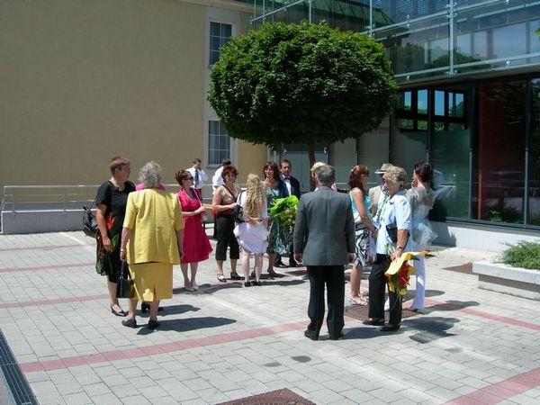 Hochzeit Von Maria Und Peter Am 7 Juli 2007